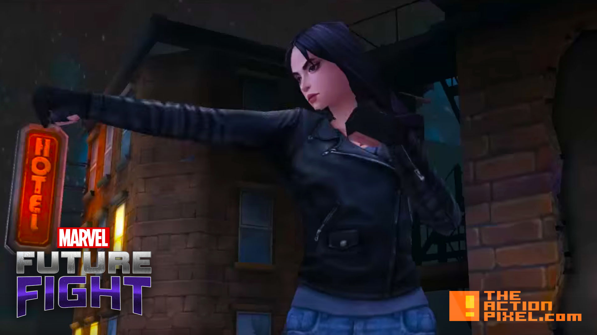 jessica jones. marvel future fight. the action pixel. @theactionpixel. netmarble