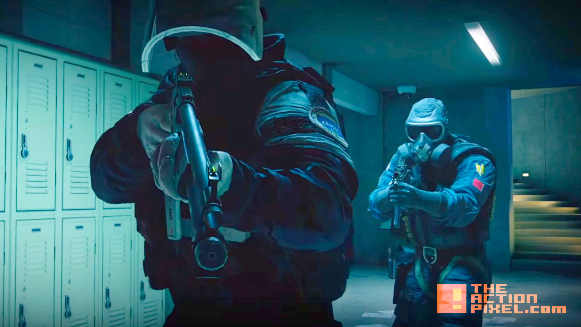 rainbow 6 siege. ubisoft. the action pixel. @theactionpixel