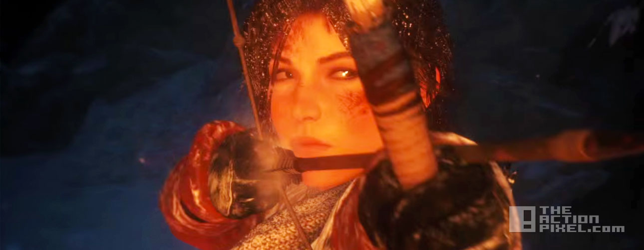 """Rise of the Tomb Raider – """"Make Your Mark"""" Launch Trailer. the action pixel. entertainment on tap. @theactionpixel"""