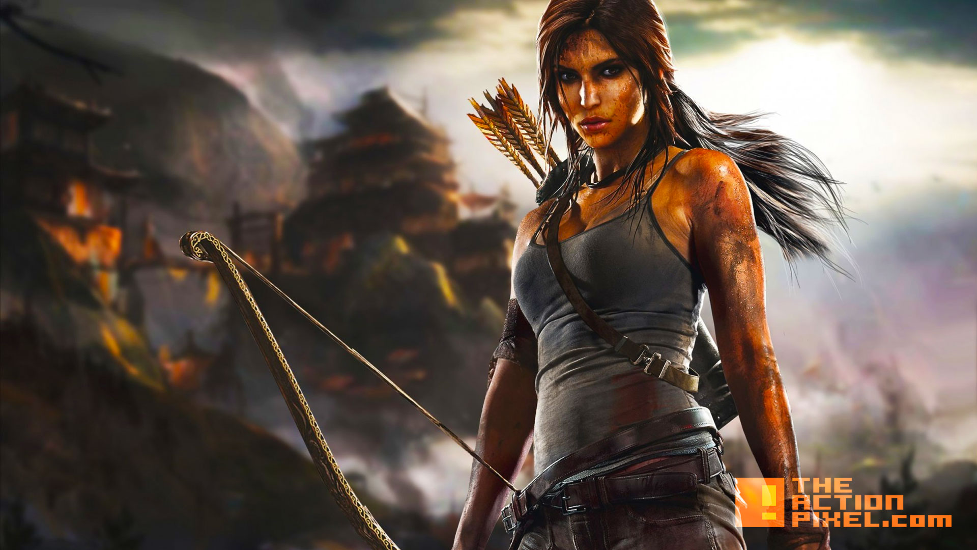 tomb raider. lara croft. square enix. the action pixel. @theactionpixel