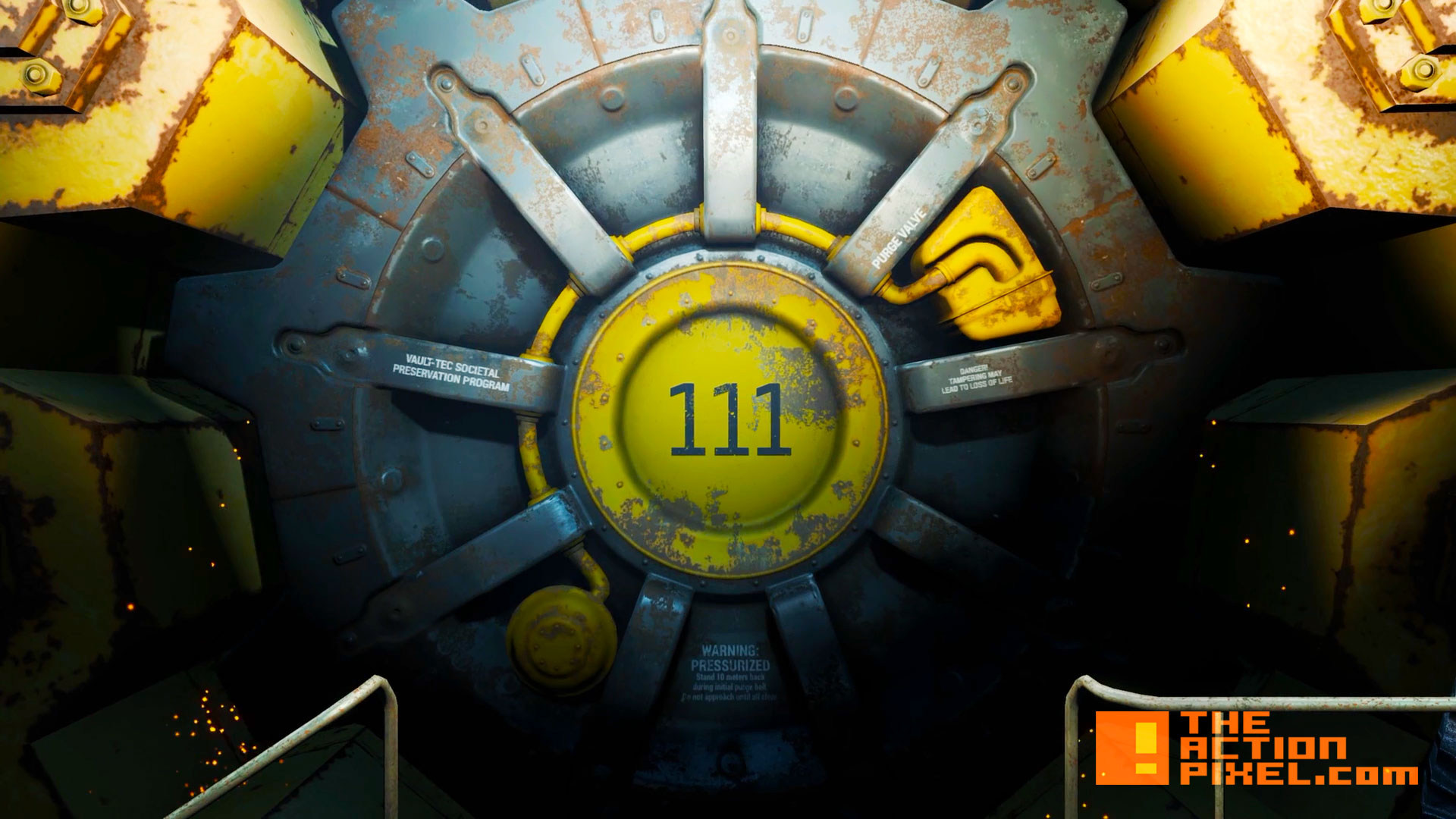 fallout 4. vault 111. bethesda. the action pixel. entertainment on tap. @theactionpixel