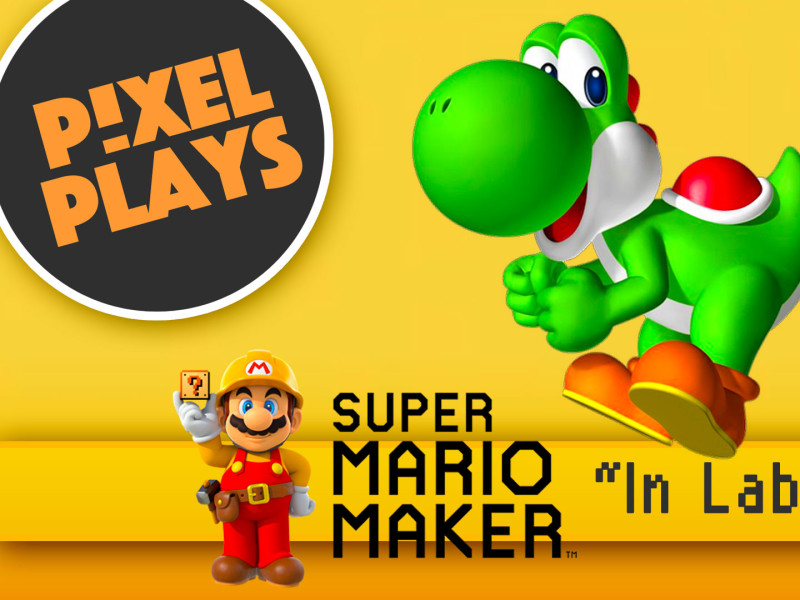 Pixel Plays. super mario maker. in labour. nintendo. the action pixel. @theactionpixel. #EntertainmentOnTAP
