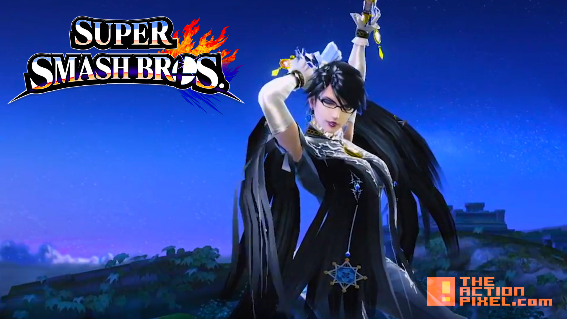 bayonetta. wii u. 3ds. nintendo. platinium games. the action pixel. @theactionpixel