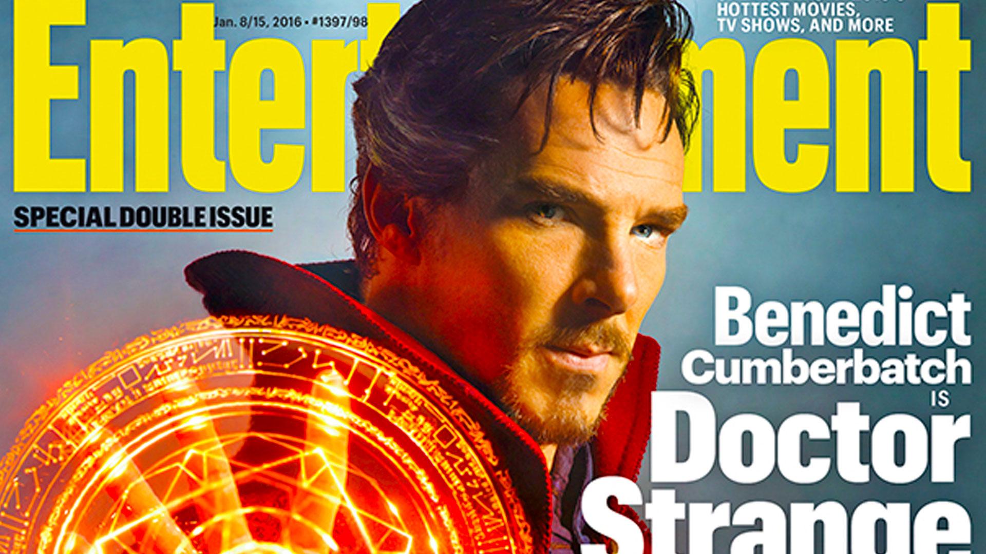 benedict cumberbatch doctor strange. marvel. entertainment weekly. entertainment on tap.