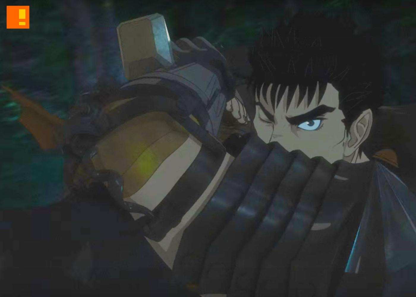 berserk anime. the action pixel. @theactionpixel. entertainment on tap