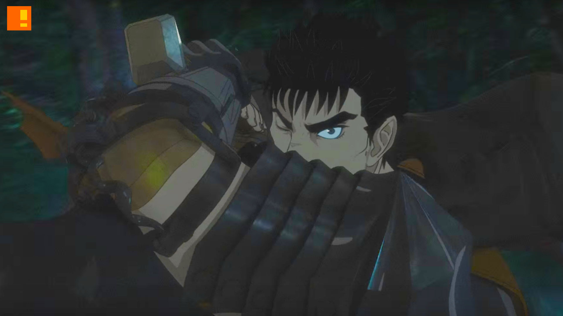 berserk anime. the action pixel. @theactionpixel. entertainment on tap