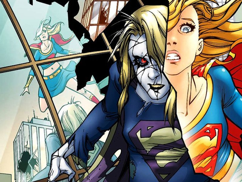 bizarro girl. dc comics. the action pixel. @theactionpixel