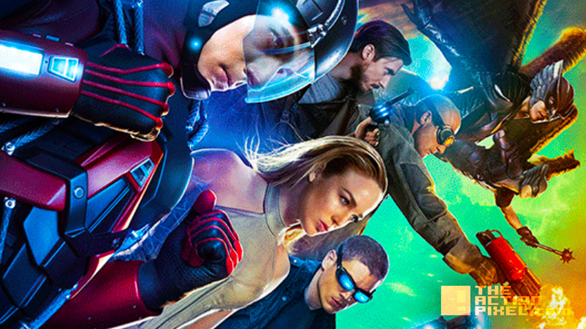 Dc S Legends Of Tomorrow Release New Images And Promo The