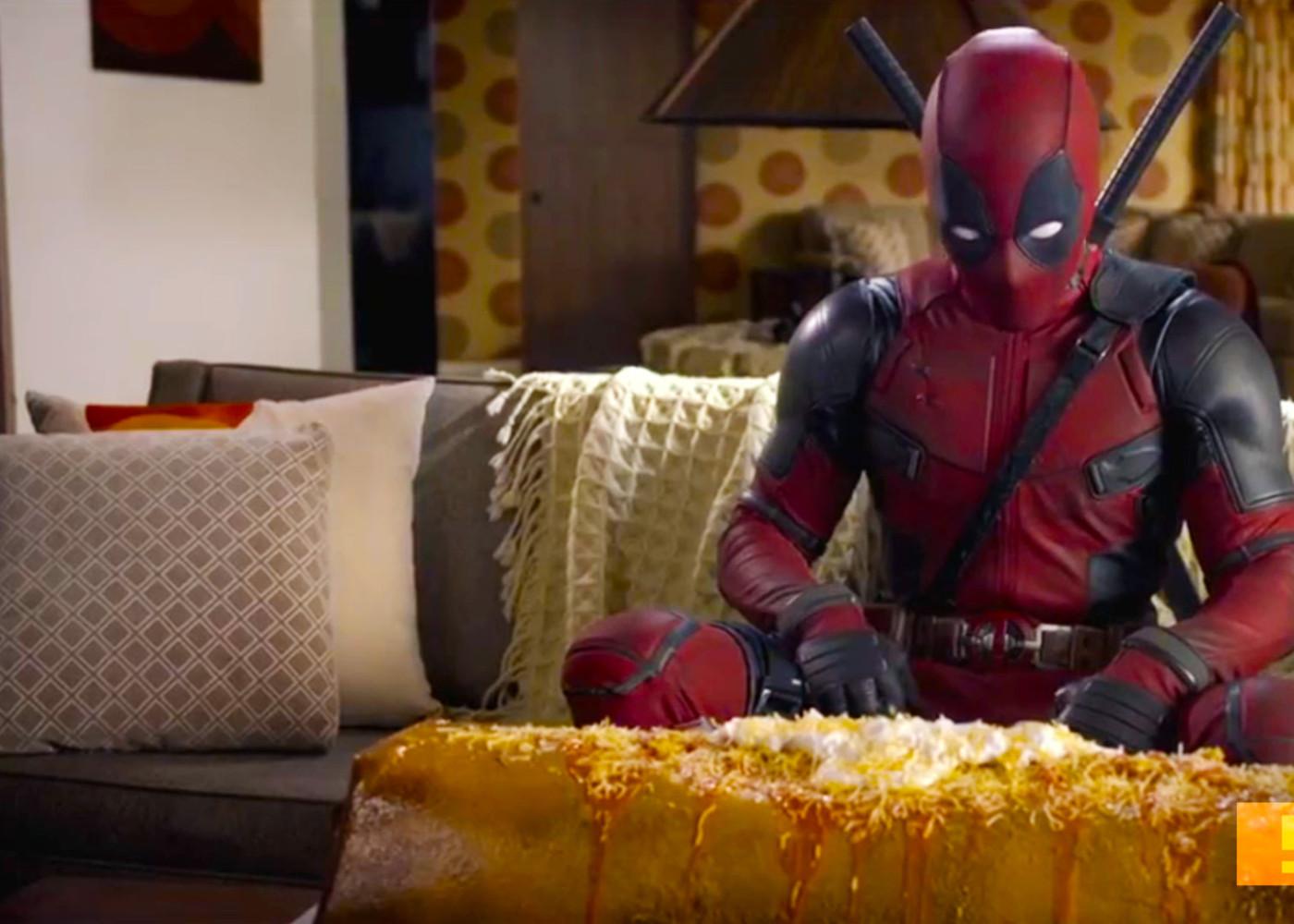 deadpool chimichanga IMAX trailer. the action pixel. @theactionpixel . 20th century fox. @theactionpixel