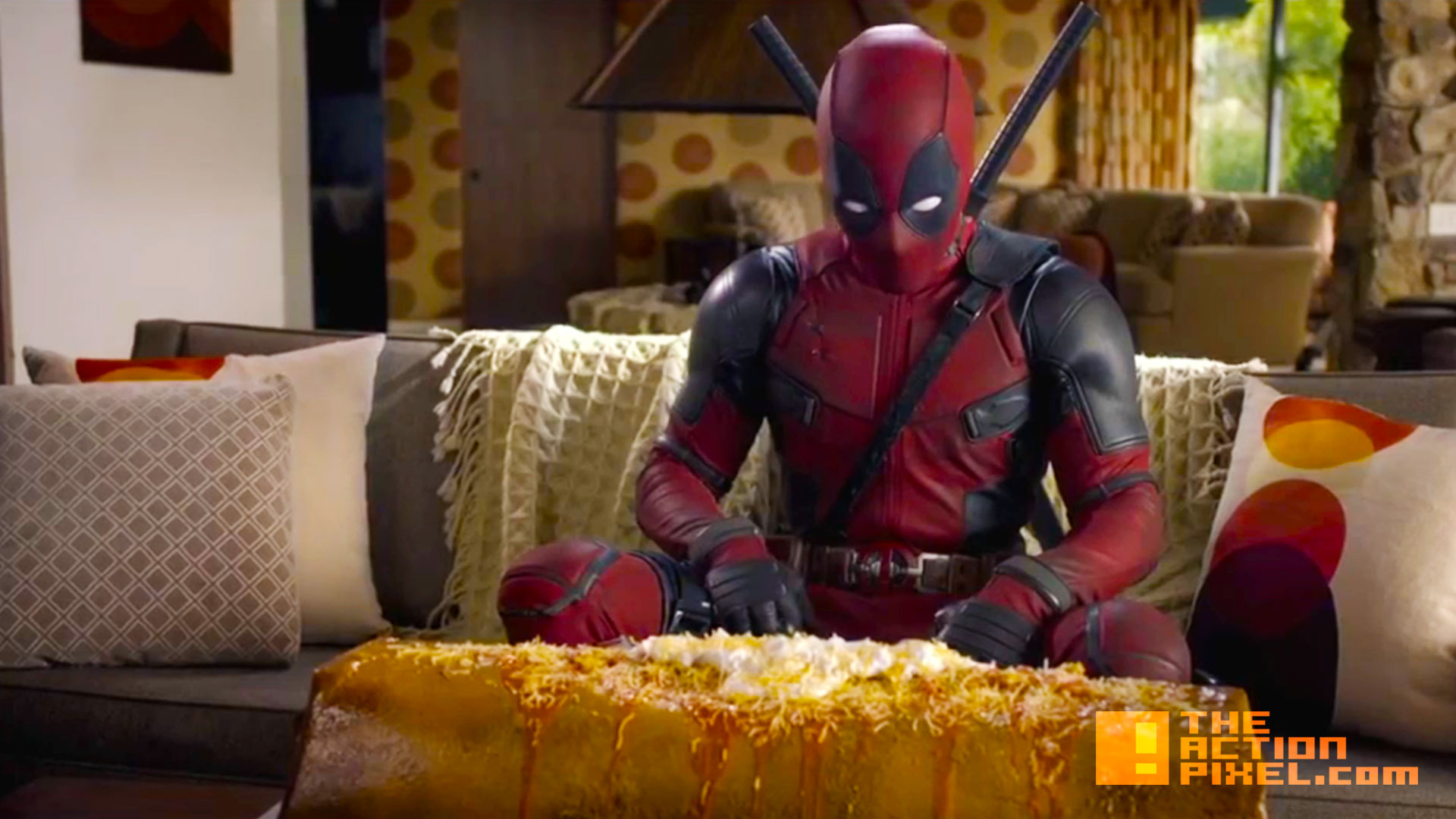deadpool chimichanga IMAX trailer. the action pixel. @theactionpixel . 20th century fox. @theactionpixel