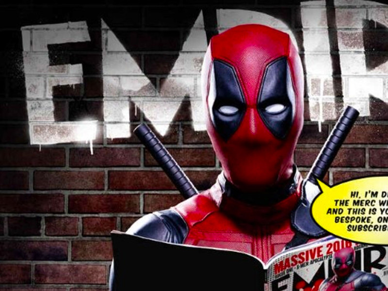 empire. deadpool. marvel. 20th century fox. deadpool. ryan reynolds. the action pixel. @theactionpixel