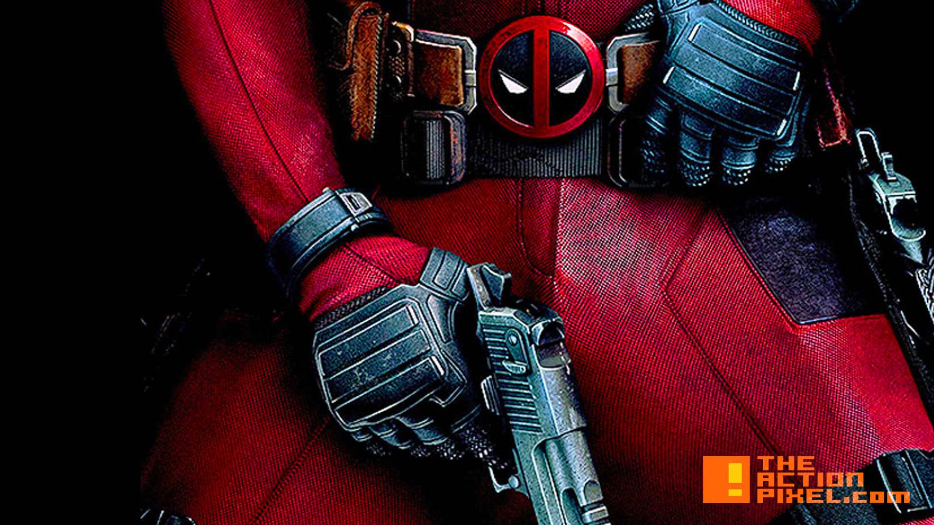 deadpool poster. #12daysofChristmas. 20th century fox. marvel. the action pixel. @theactionpixel