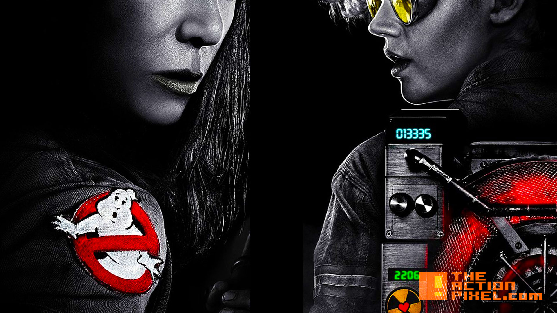paul feig ghostbusters. sony. poster. the action pixel. @theactionpixel