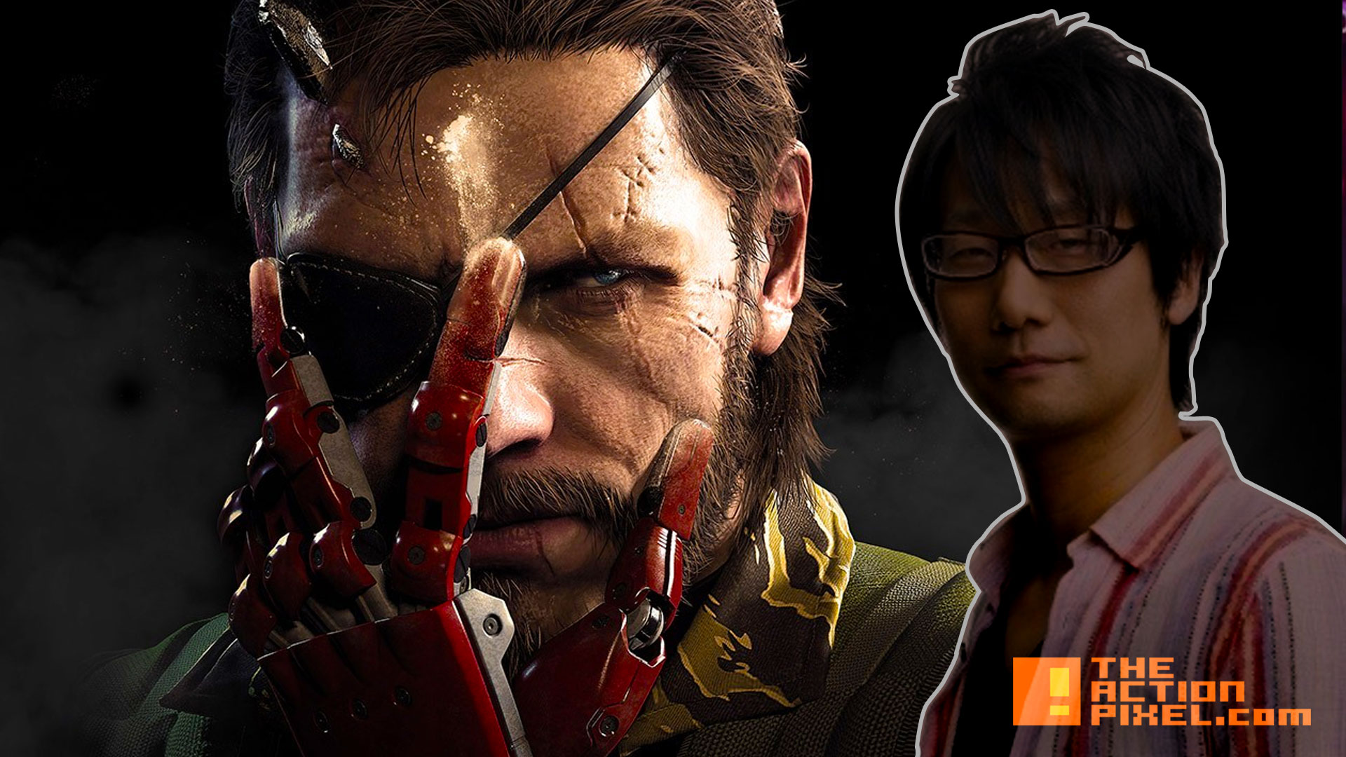 hideo kojima MGSV. metal gear solid 5. the phantom pain. the action pixel. konami. @theactionpixel
