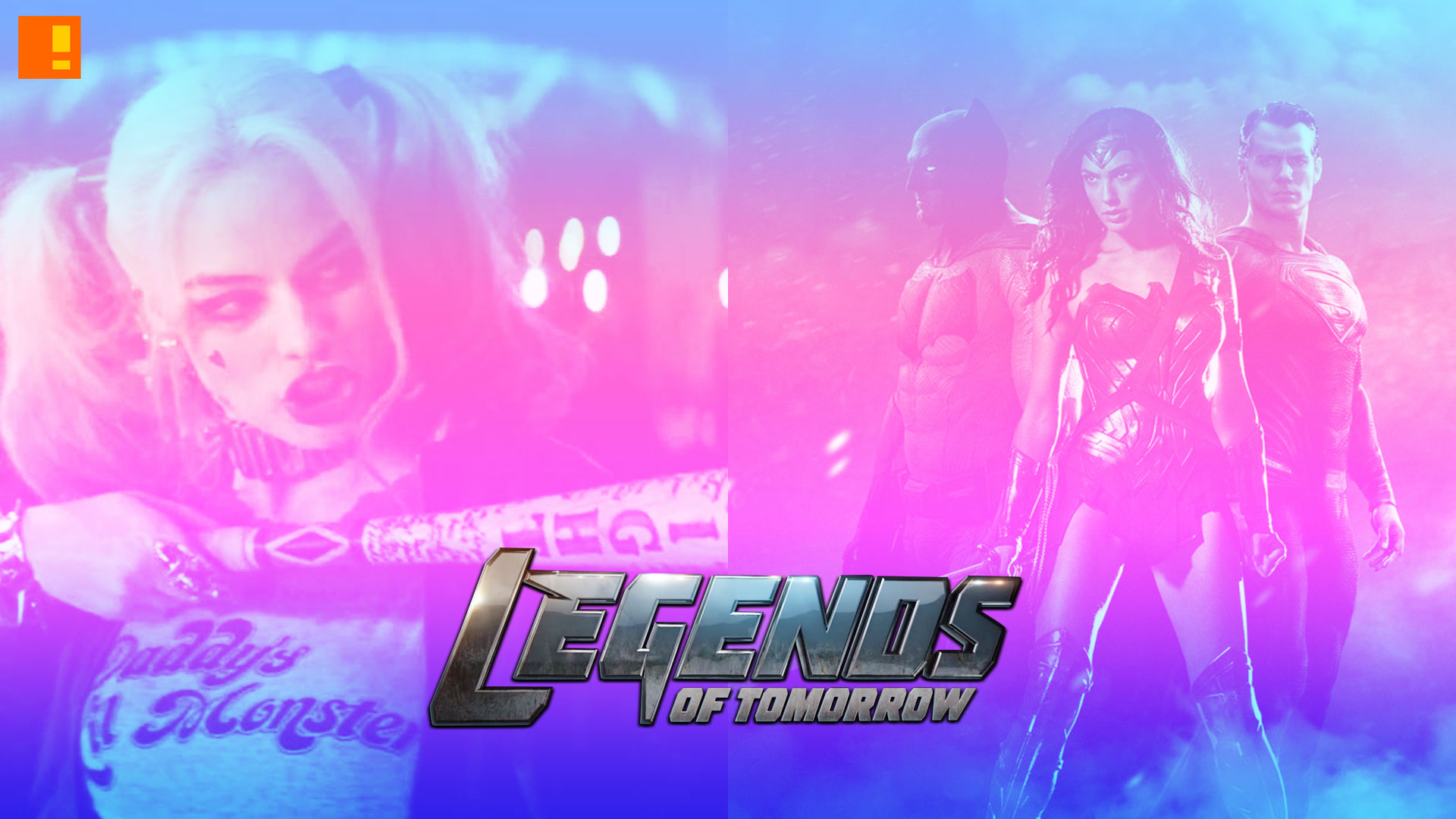 legends of tomorrow. suicide squad. batman vs superman. dawn of justice. the CW network. dc comics. entertainment on tap,