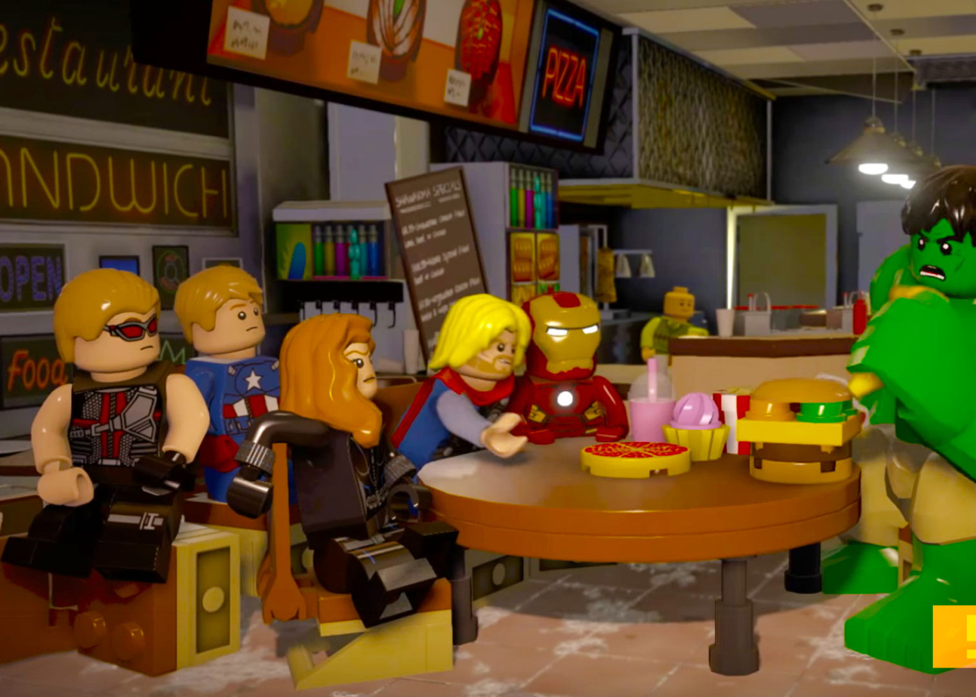 lego marvel avengers. the action pixel. @theactionpixel