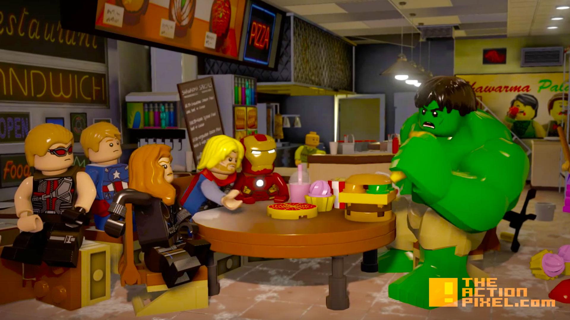 lego marvel avengers. the action pixel. @theactionpixel