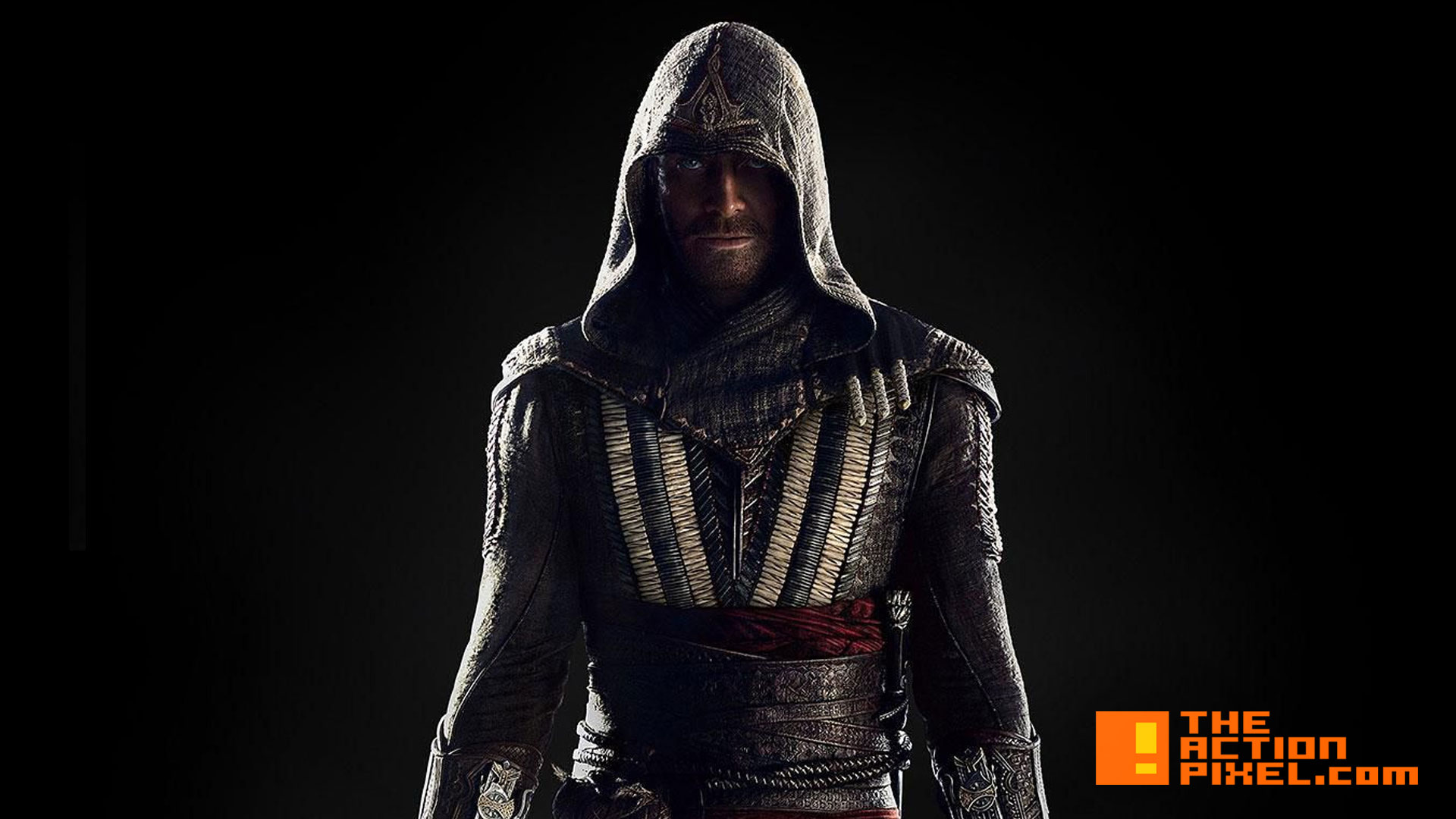 michael fassbender. assassin's creed. the action pixel. @theactionpixel. #entertainmentontap. 20th century fox. ubisoft. the action pixel. callum lynch. @theactionpixel