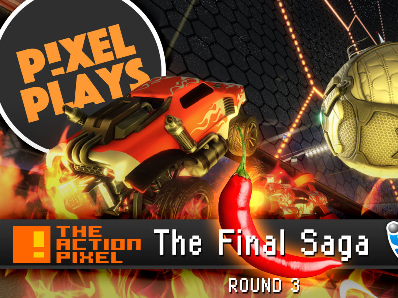 pixel plays: tap vs rocket league all star bots. the action pixel. @theactionpixel. psyonics, entertainment on tap