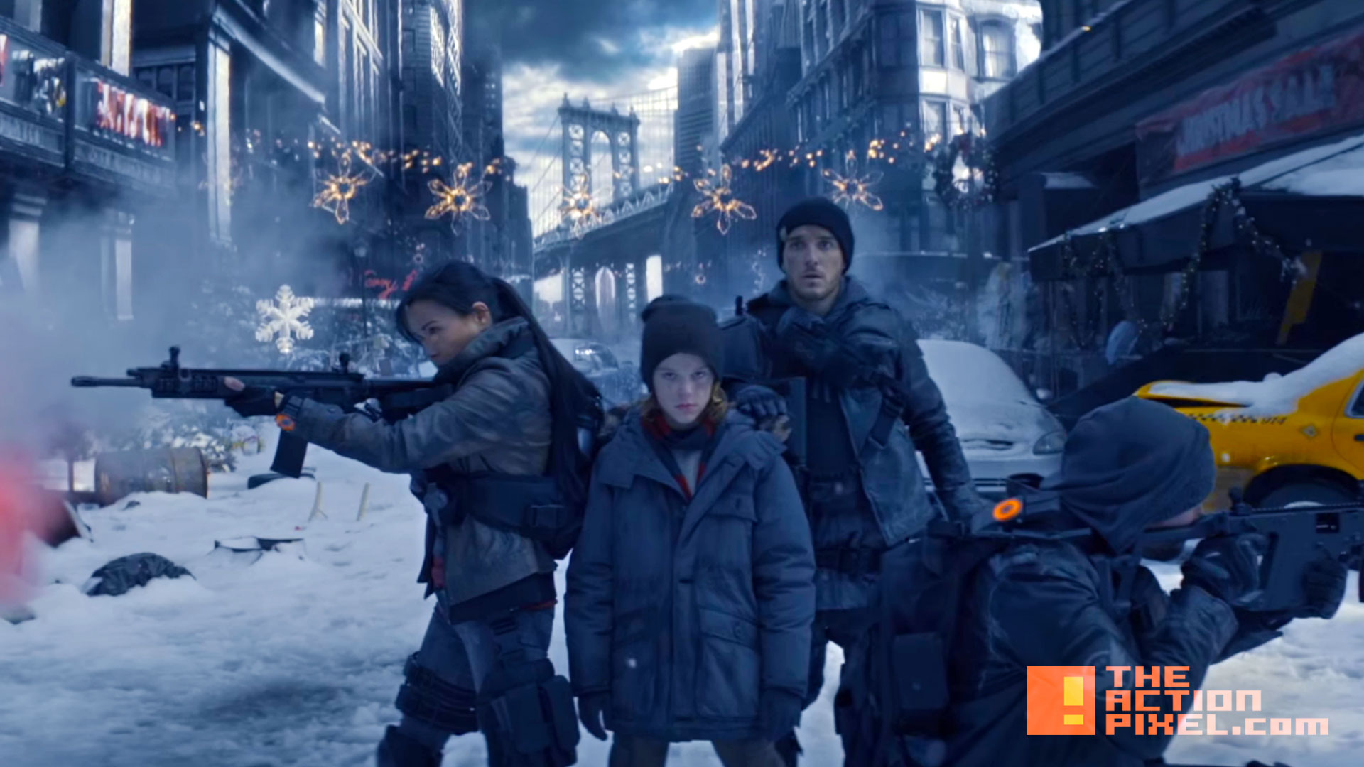 the division title. tom clancy. ubisoft. the action pixel. silent night. @theactionpixel
