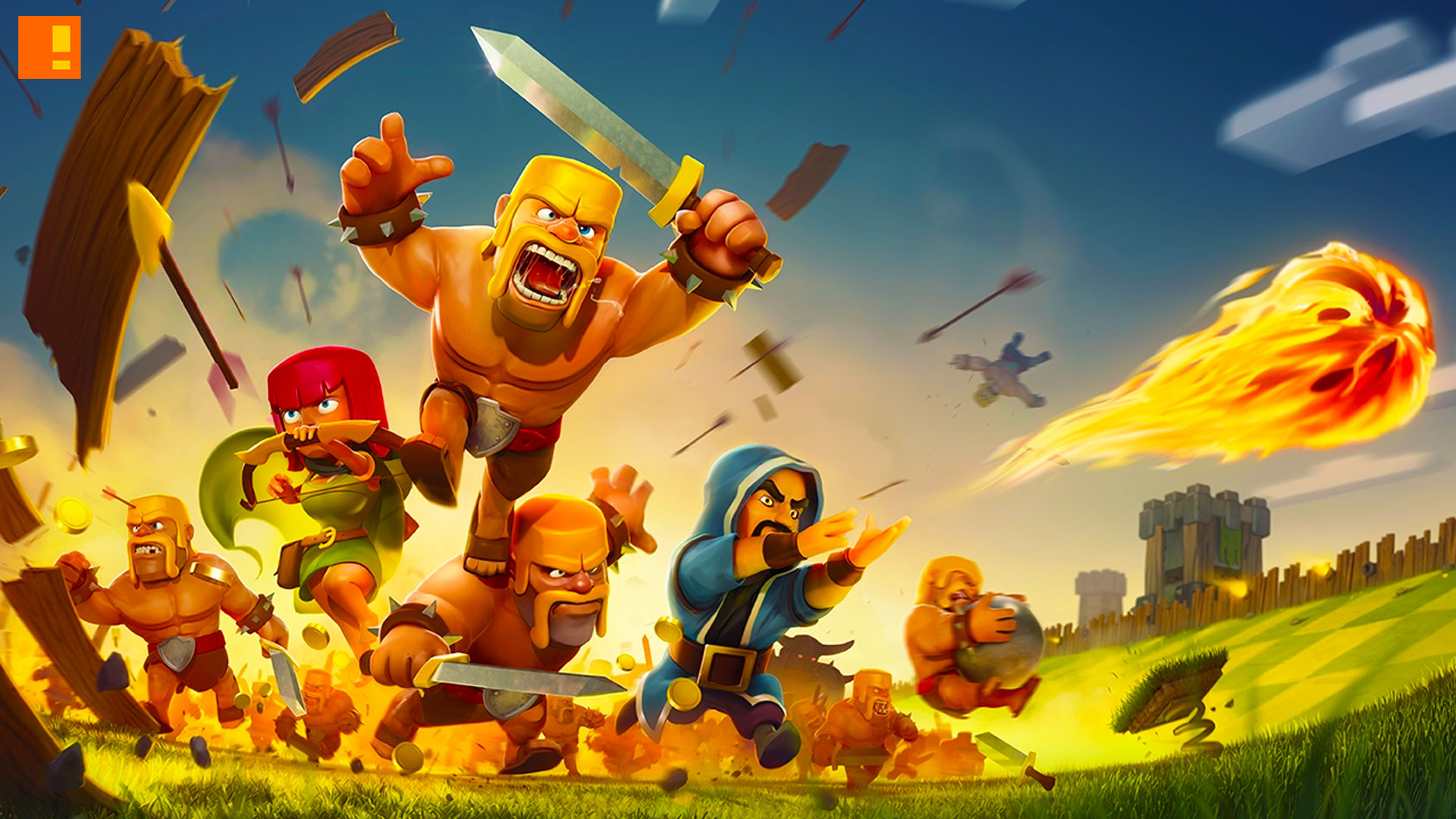 clash of clans. supercell. the action pixel. @theactionpixel