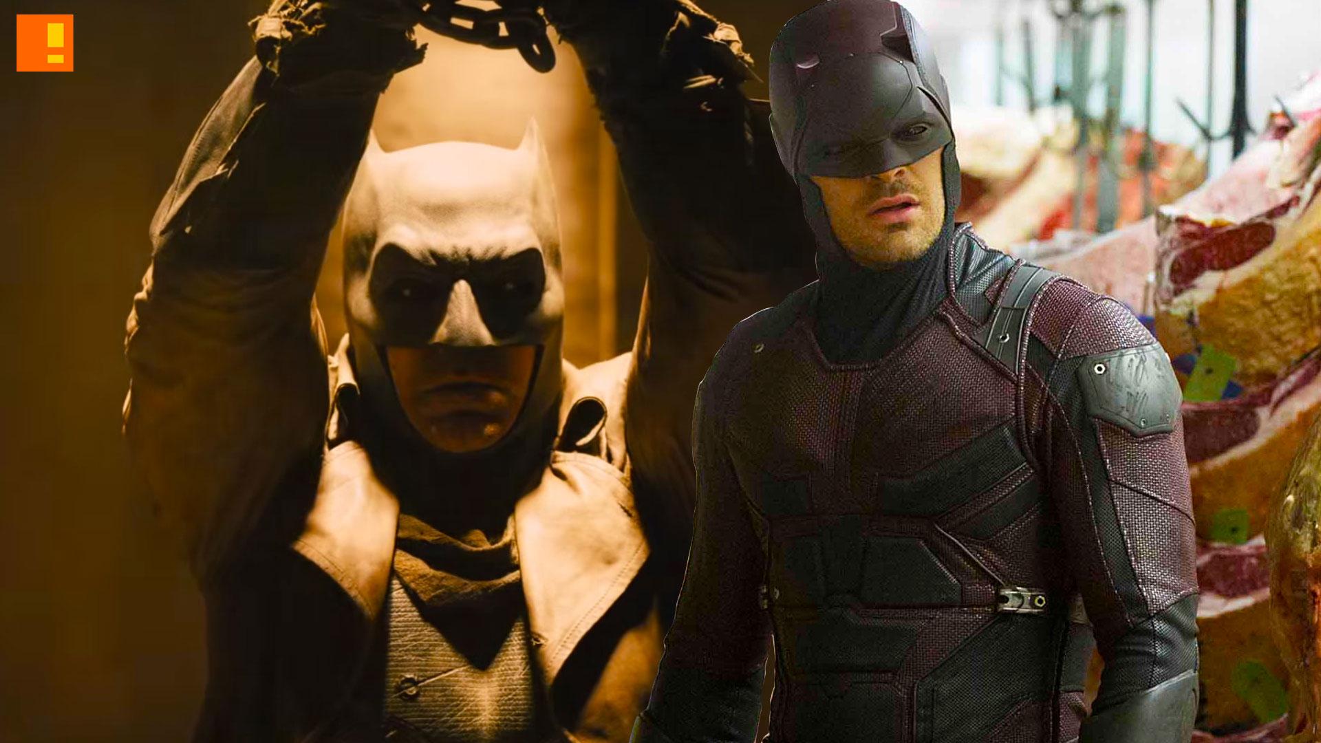 daredevil. batman. marvel. dc comics. the action pixel. @theactionpixel.