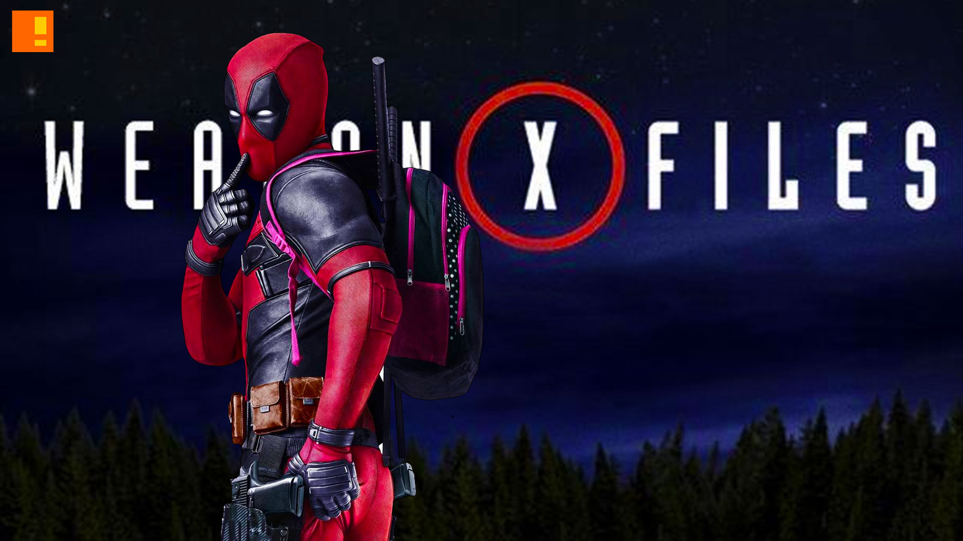 deadpool Weapon X files. 20th century fox. marvel. the action pixel. @theactionpixel