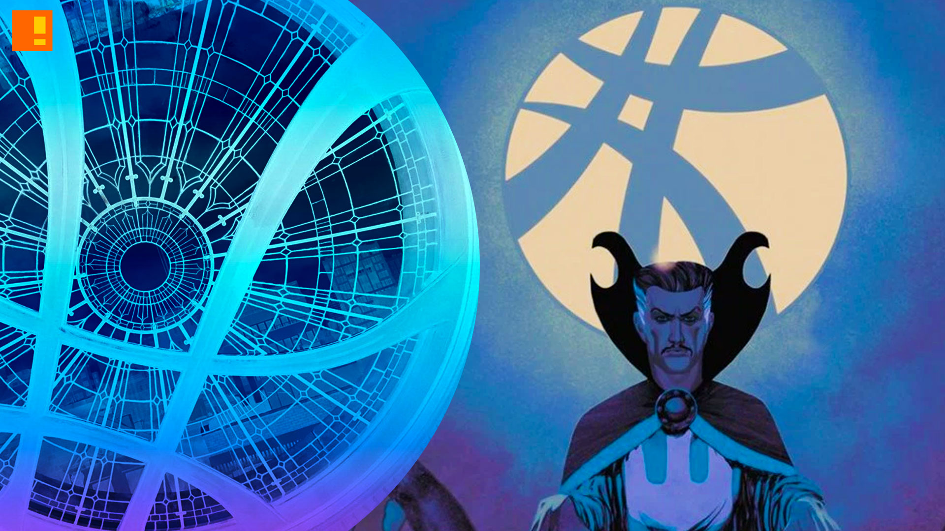 Sanctum Sanctorum. doctor strange. marvel. the action pixel. @theactionpixel