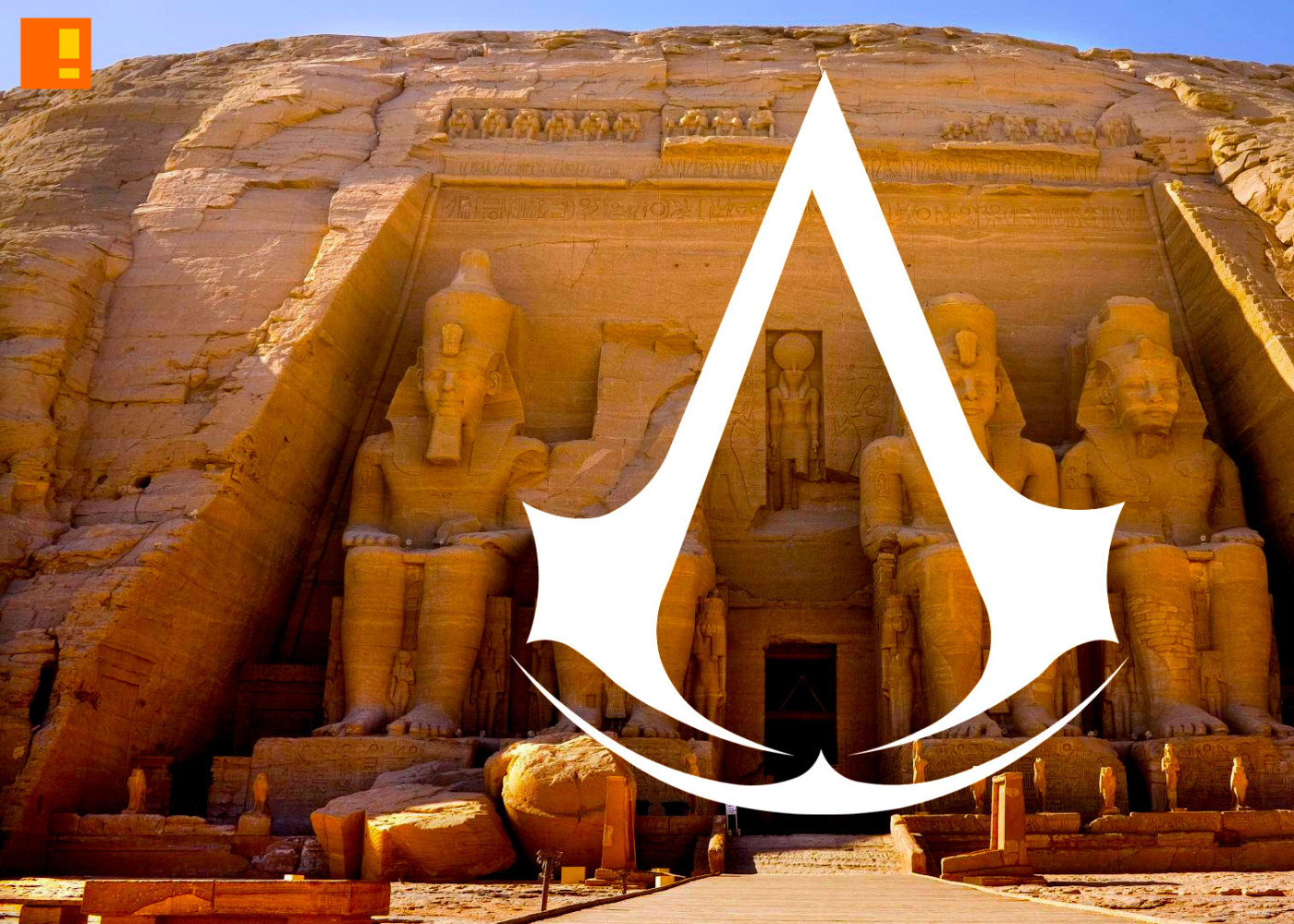 egypt? Assassins Creed. ubisoft. the action pixel