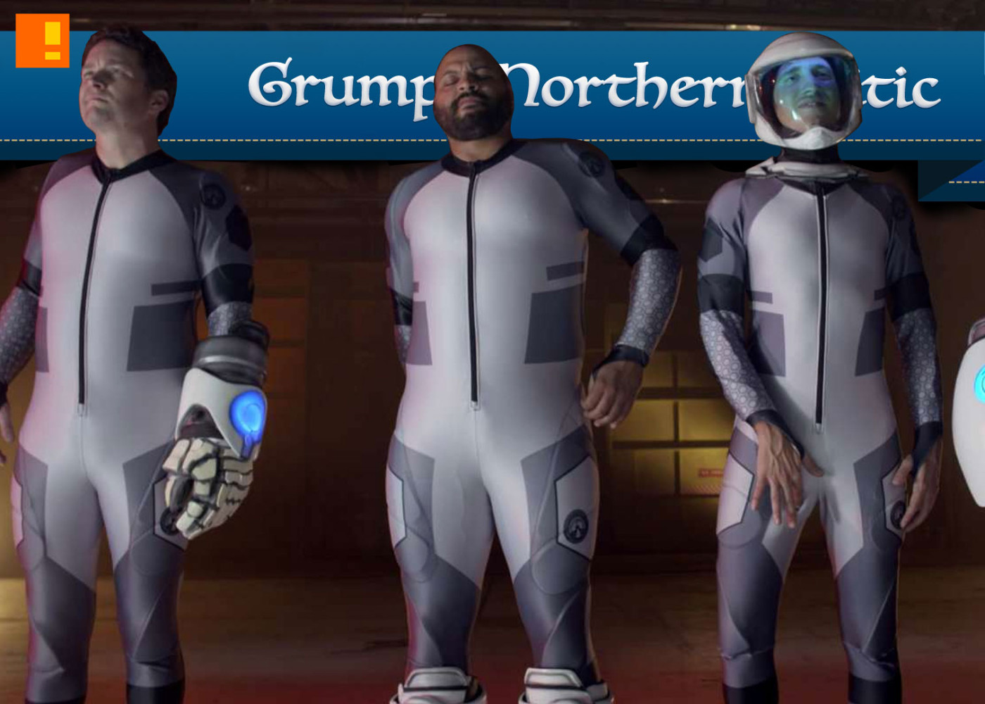 lazer team movie poster. rooster teeth. the action pixel. @theactionpixel