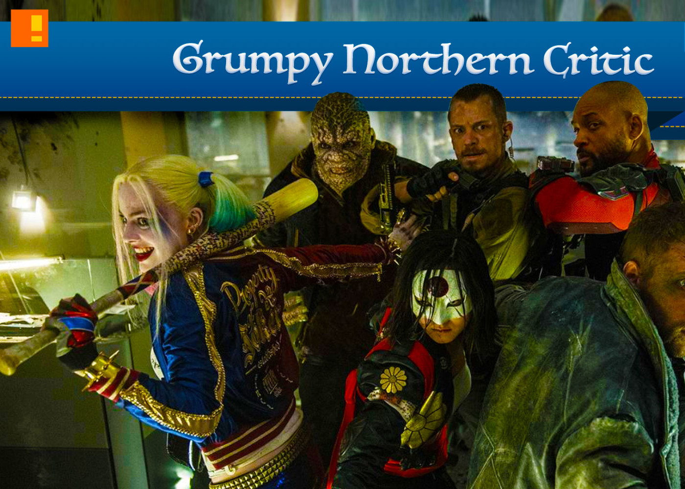 grumpy northern critic .suicide squad. the action pixel. @theactionpixel
