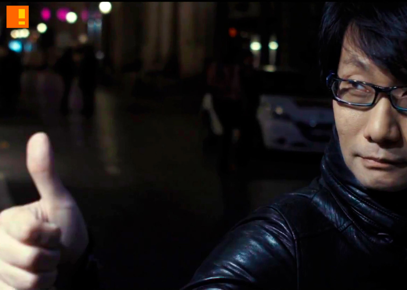 hideo kojima. the action pixel. entertainment on tap. @theactionpixel