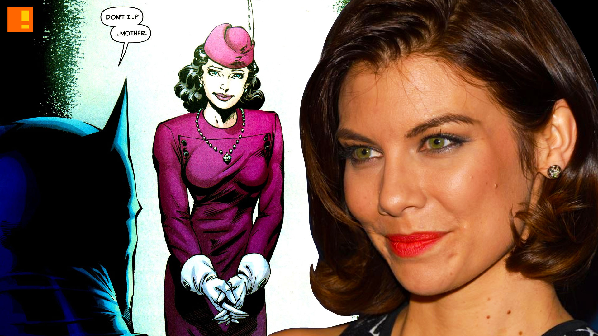 lauren cohan cast as martha wayne in batman v superma dawn of justice. the action pixel. dc comics. warner bros. pictures. @theactionpixellauren cohan cast as martha wayne in batman v superma dawn of justice. the action pixel. dc comics. warner bros. pictures. @theactionpixel