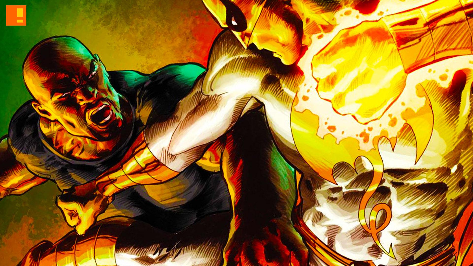 iron fist. the action pixel. @theactionpixel. marvel