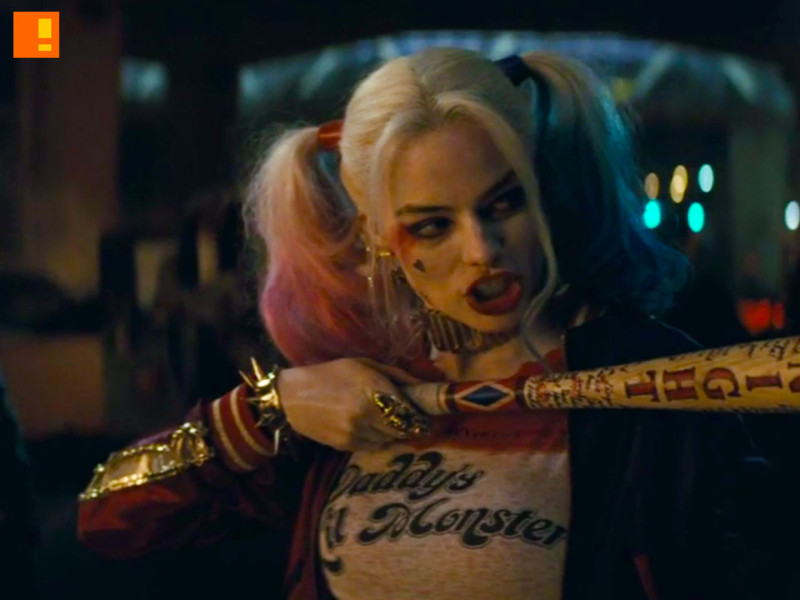 margot robbie suicide squad. harley quinn. wb. dc comics. the action pixel. @theactionpixel