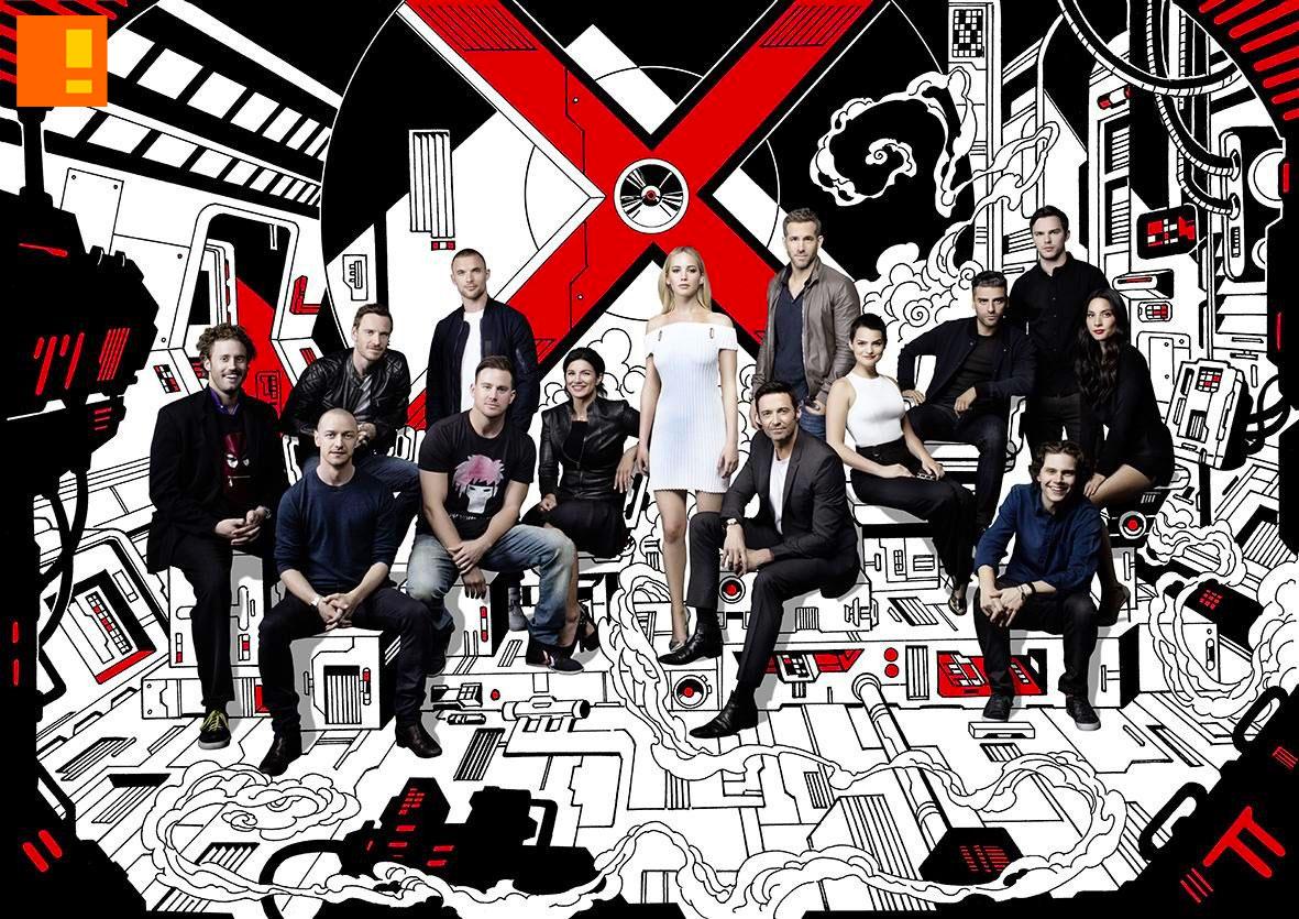 marvel 20th century fox group photo. @theactionpixel. the action pixel