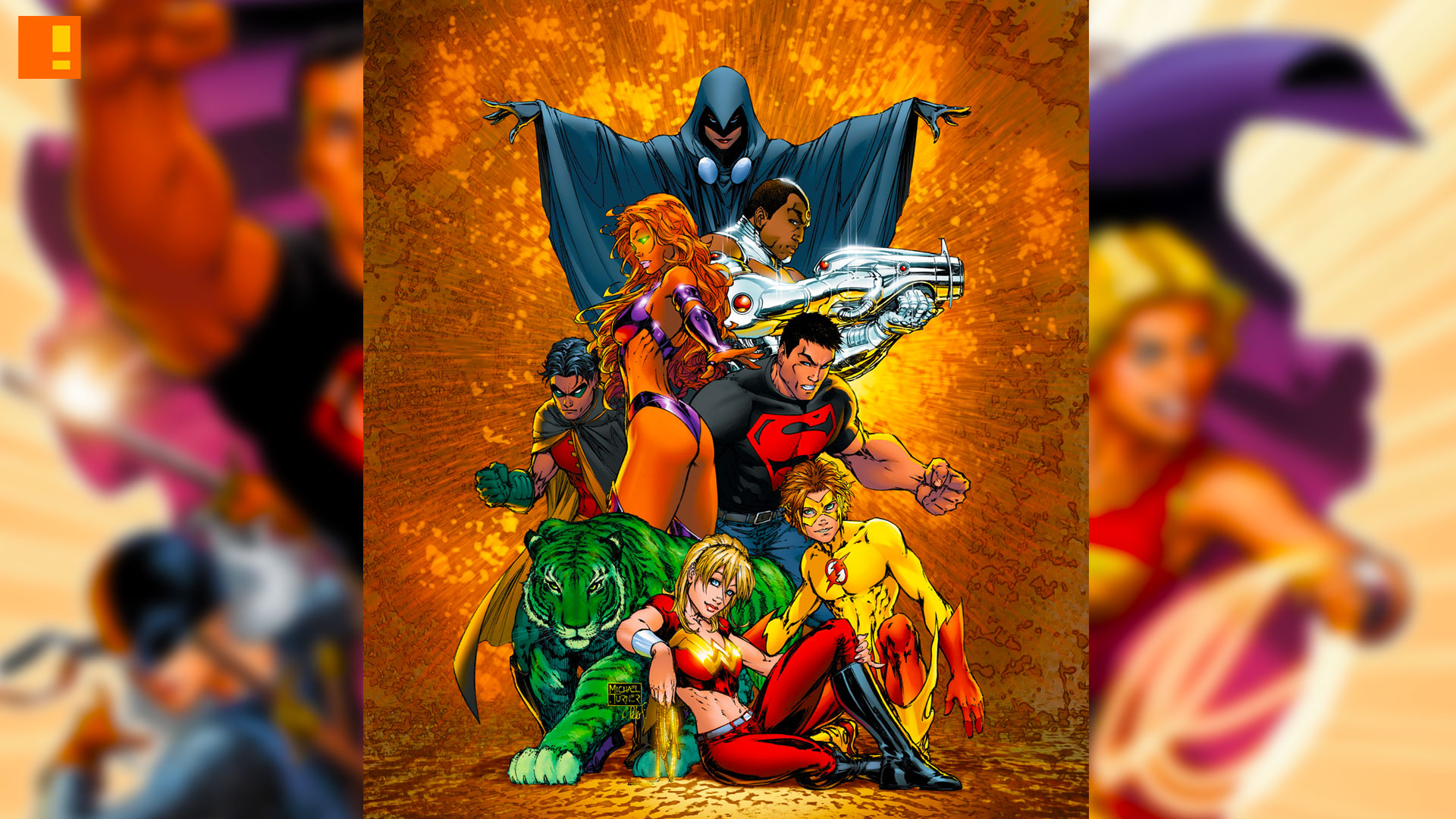 teen titans. dc comics. the action pixel. @theactionpixel
