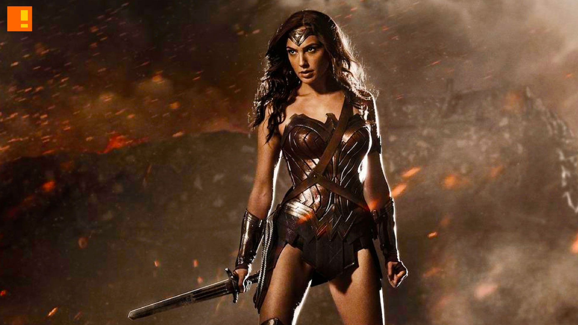 Wonder Woman is a retired superhero pushing 5,000 years in ""