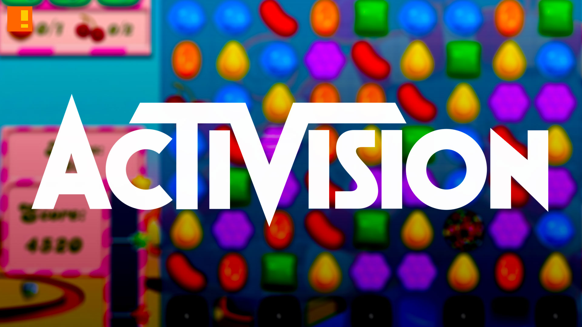 activision. king. candy crush. entertainment on tap. the action pixel. @theactionpixel