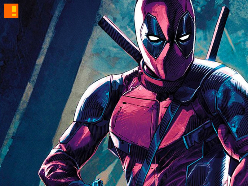 deadpool rob liefeld mondo poster. deadpool. 20th century fox. marvel. the action pixel. @theactionpixel