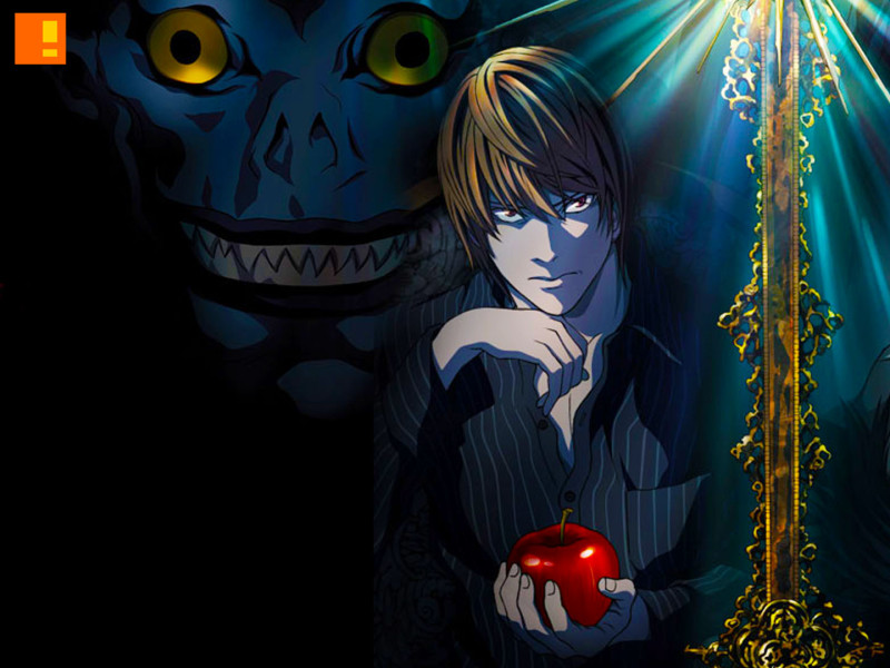 death note. the action pixel. @theactionpixel