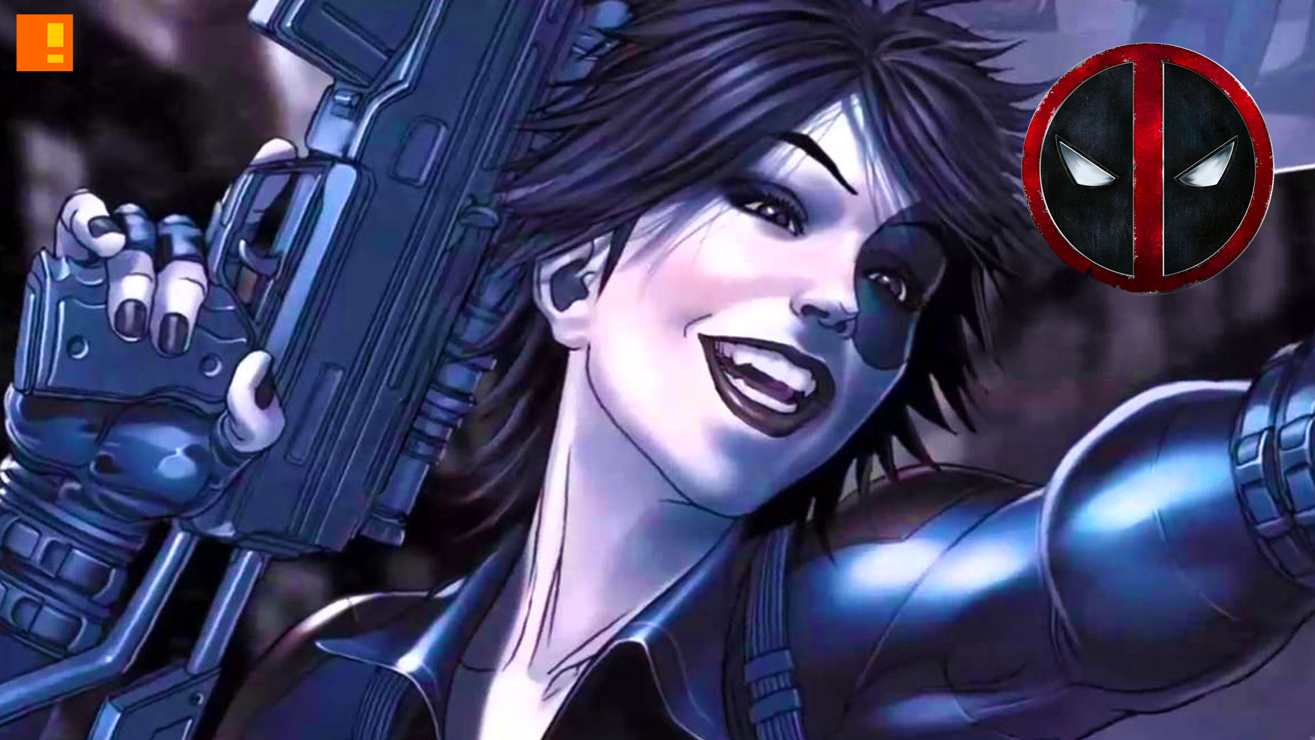 domino. deadpool 2? entertainment on tap. the action pixel. @theactionpixel. marvel