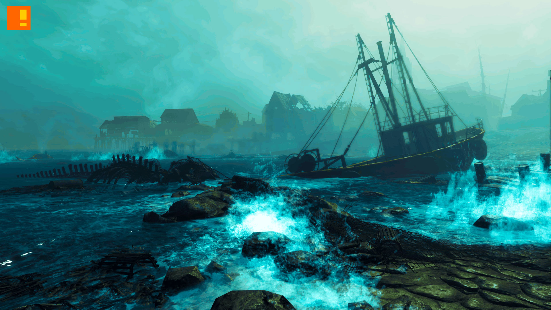 fallout 4 far harbor. bethesda. the action pixel. @theactionpixel