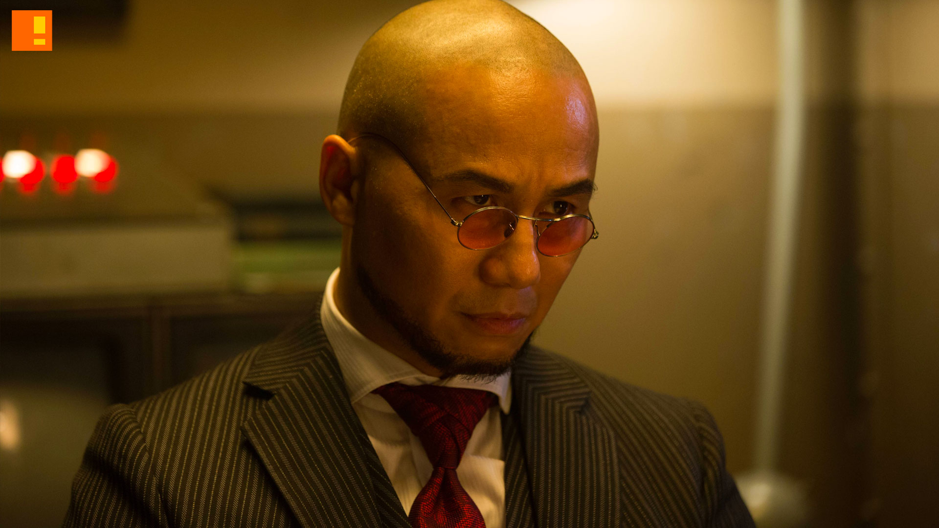 hugo strange. bd wong. gotham. fox. dc comics. the action pixel. @theactionpixel