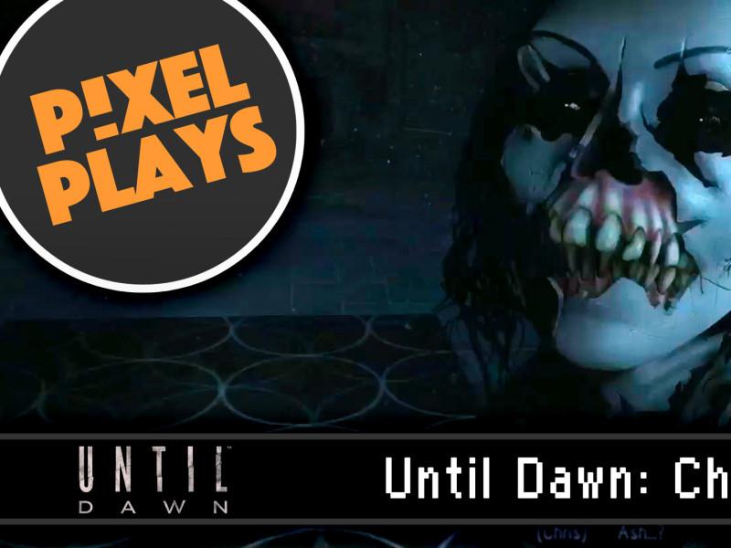 pixel plays Until Dawn Haunted. supermassive games. the action pixel. @theactionpixel