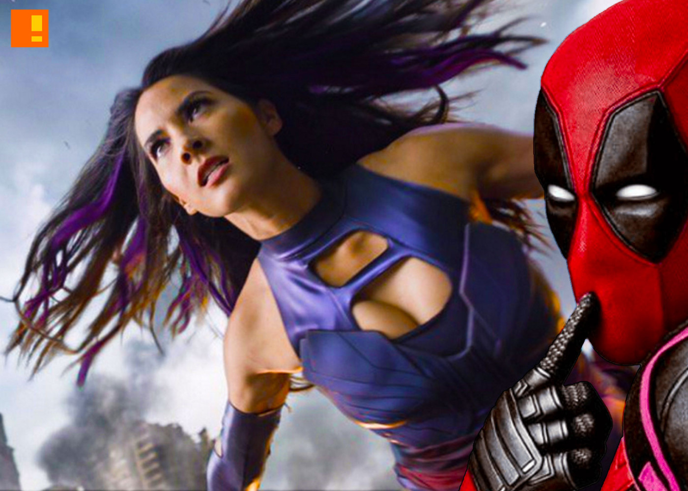 psylocke vs deadpool? 20th century fox. the action pixel. @theactionpixel.