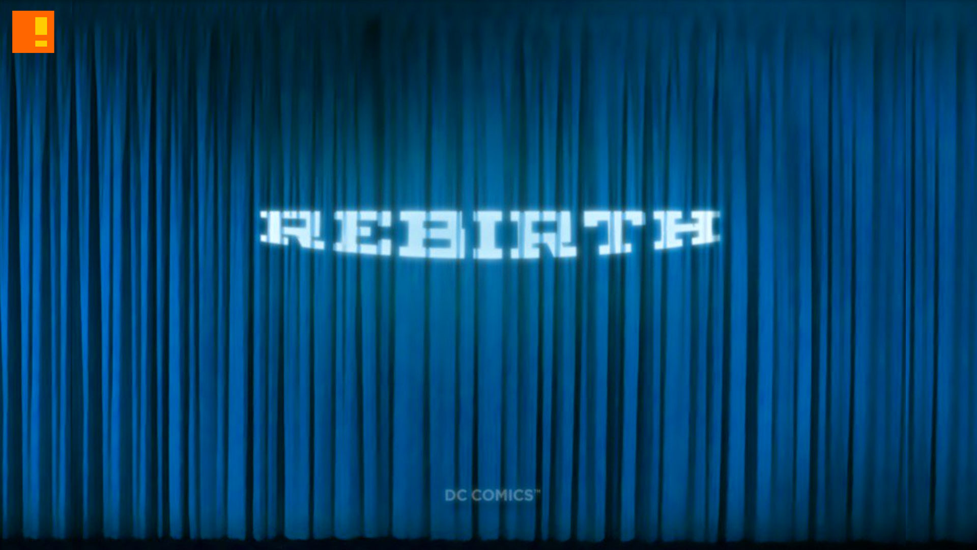 rebirth. dc comics. the action pixel. entertainment on tap. the action pixel. @theactionpixel