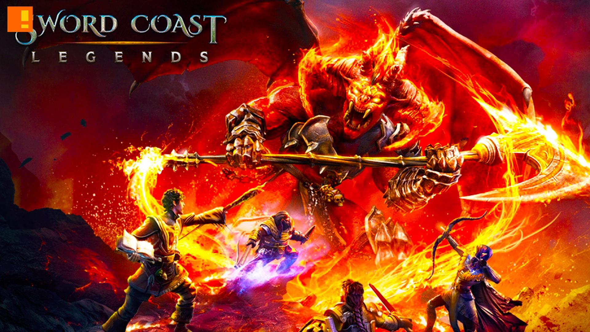 sword coast legends. the action pixel. @theactionpixel