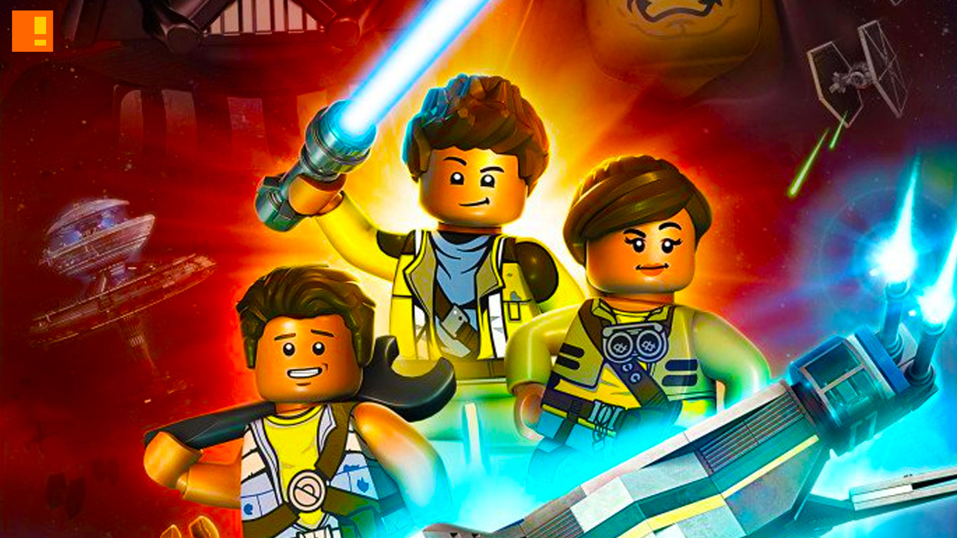 lego star wars the freemaker adventures. lego. lucasfilm. star wars. disney. entertainment on tap. @theactionpixel