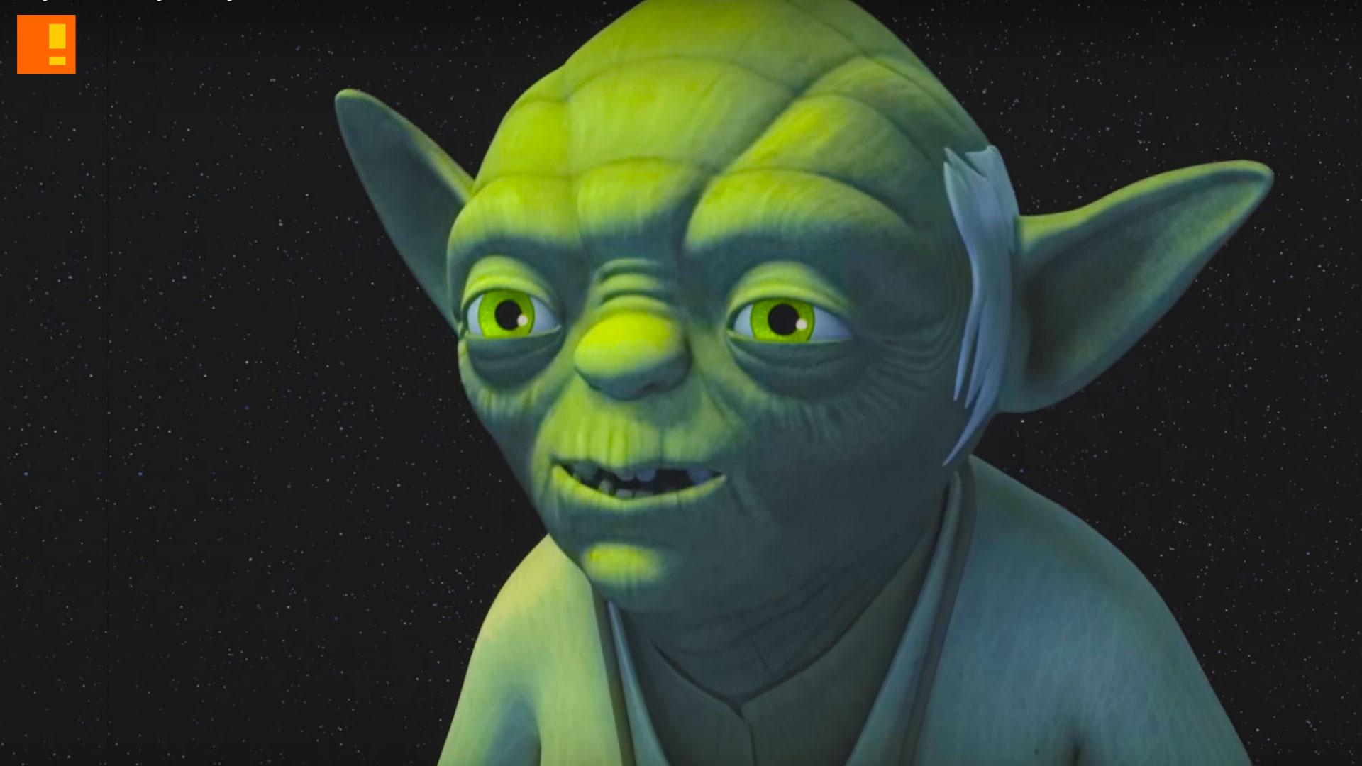 yoda. star wars rebel. disney. lucasfilm. the action pixel. @theactionpixel